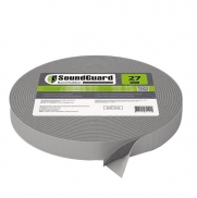 Лента демпферная виброгасящая Soundguard Band Rubber 27 12000x27x4,6 мм