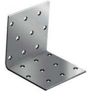Крепежный уголок Хортъ равносторонний Kur 80х80х60 мм