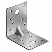 Крепежный уголок усиленный Хортъ Kuu 90х90х65 мм