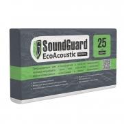Плита звукопоглощающая Экоплита Soundguard Ecoacoustic 1000х600х25 мм 8 плит в упаковке