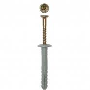 Дюбель-гвоздь с грибовидной манжетой Tech-Krep 6х40 мм 101989 150 шт
