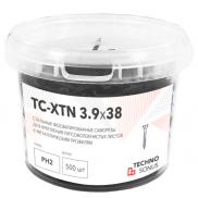 Саморезы ТС-XTN 3,9х38 мм 500 шт.