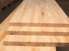 Мебельный щит из лиственницы 40x300 Экстра